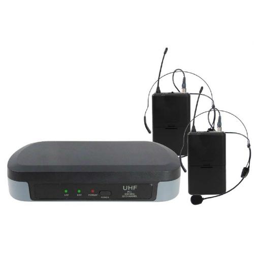 SAR KARMA SET-7302 LAV bežicni mikrofon,2 bežična pilot mikrofona. jedna baza,UHF