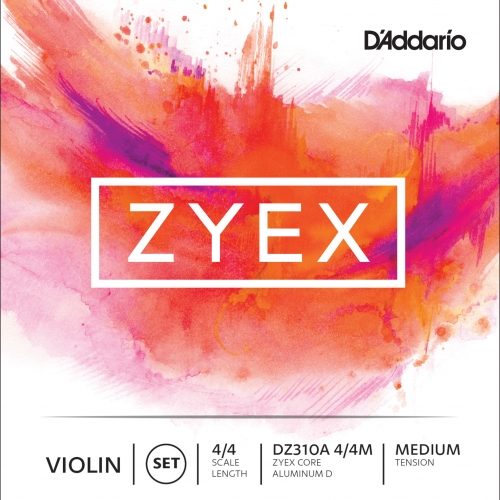 daddario DZ310S 4/4 M ZYEX žice za violinu MEDIUM