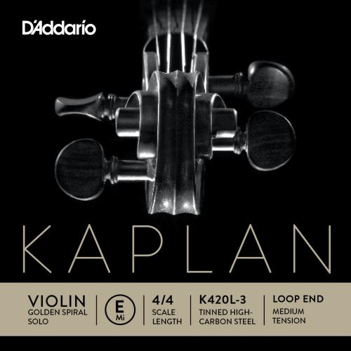 daddario K420L-3 KAPLAN GSS E žica za violinu MEDIUM