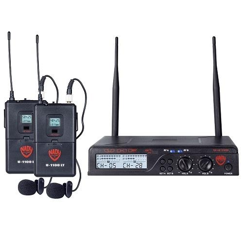 NADY U-2100 LT UHF dupli bežični buba mikrofon sistem
