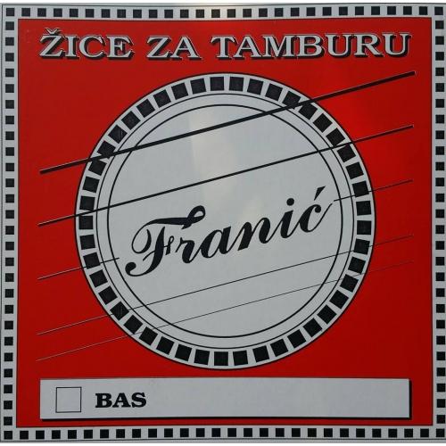 Yotke Žice za Tamburaški Bas A/G štim / FRANIC