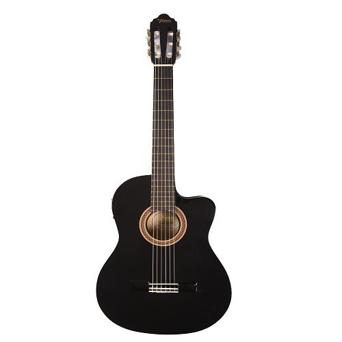 Valencia Klasična gitara VC104CE BK cutway ozvučena - crna boja