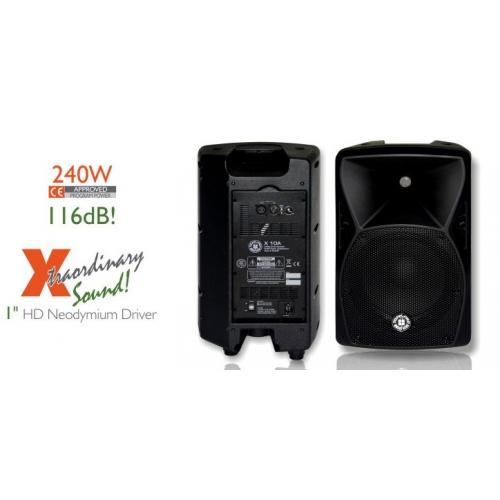 TOPP PRO X10A 10+1 240/480 watt aktivni zvučnik