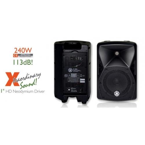 TOPP PRO X8A 8+1 240/480 watt aktivni zvučnik