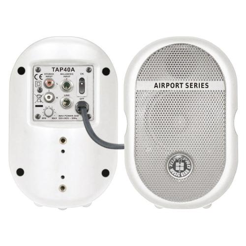 TOPP PRO TAP40AWH 4 40watti - aktivni zvučnik