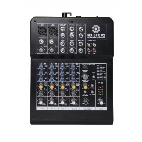 TOPP PRO MX6FXV2 audio mikseta