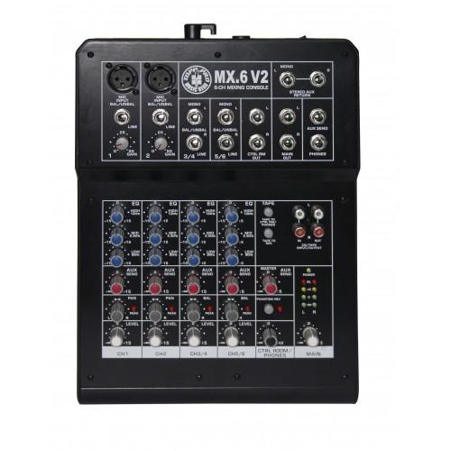 TOPP PRO MX6V2 audio mikseta