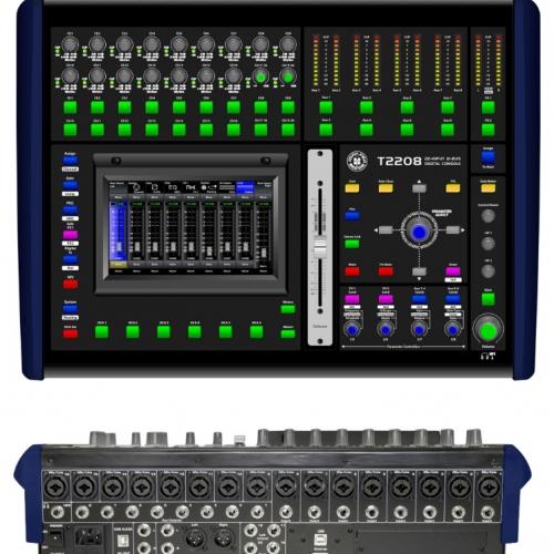 TOPP PRO T2208 digitalna audio mikseta