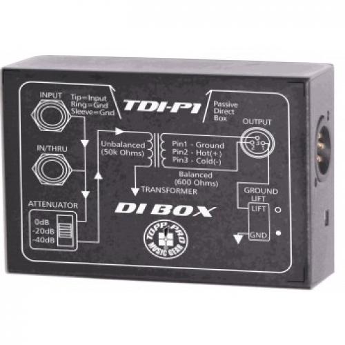 TOPP PRO TDIP1 pasivni DI-BOX