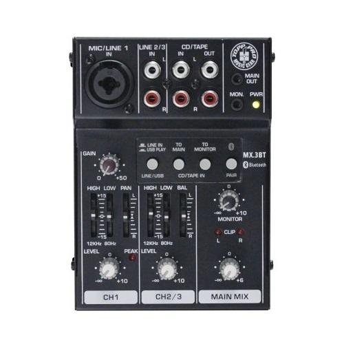 TOPP PRO MX3BT audio mikseta