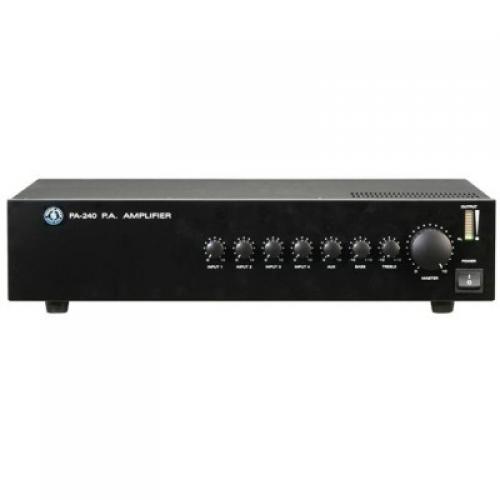 TOPP PRO PA240 240watt 100V mixer-pojačalo