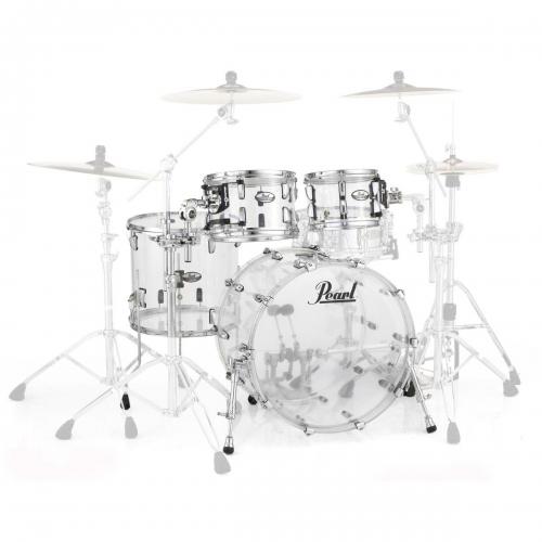 Pearl bubanj Crystal Beat CRB524P/C730 ULTRA CLEAR (bez doboša i stalaka) akustični