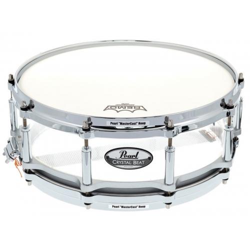 Pearl doboš Crystal Beat CRB1450S/C730 14x5 ULTRA CLEAR akustični
