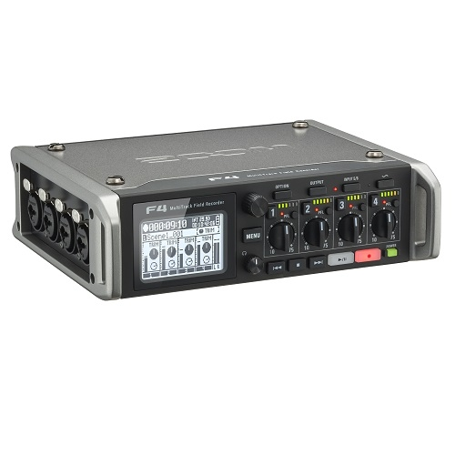 ZOOM F4 Multitrack field audio recorder