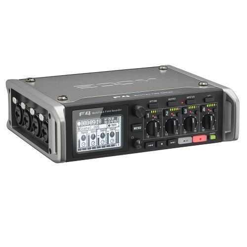 ZOOM F4 Multitrack field audio recorder