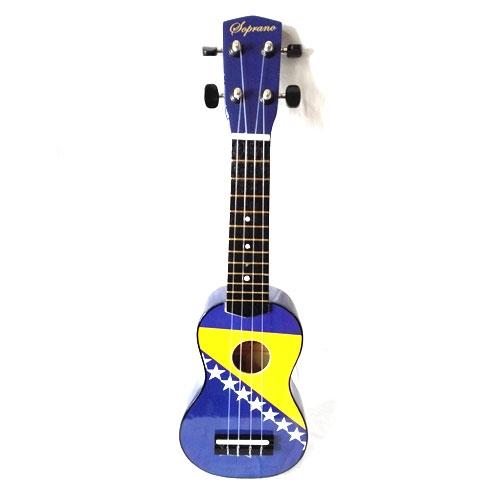 Soprano ukulele UK-51BF 51cm (zastava BiH) sa torbom
