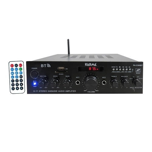 SAR KARMA PA-2380BT audio pojačalo 2x50watt sa Bluetooth MP3 playerom