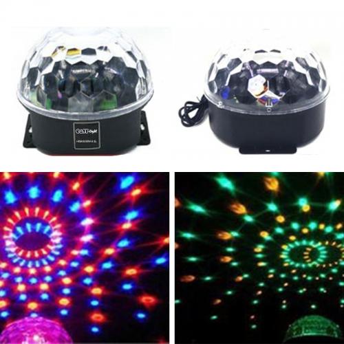 SAR Easy Light Hemisfera 6 SL LED kristalna kugla