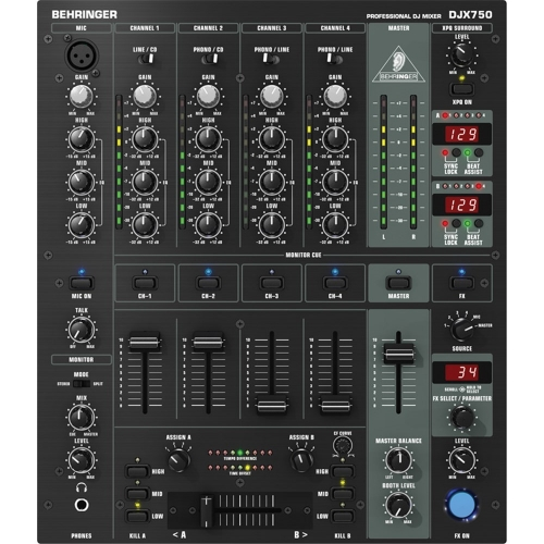BEHRINGER DJX750 DJ mikseta