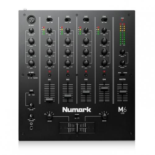 Numark M6 USB 4 kanalna DJ mikseta