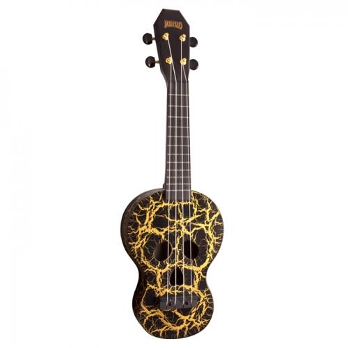 MAHALO MC1SKBK SKULL BLACK - ukulele