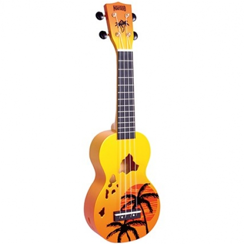 MAHALO MD1HAORB HAWAII orange burst - ukulele
