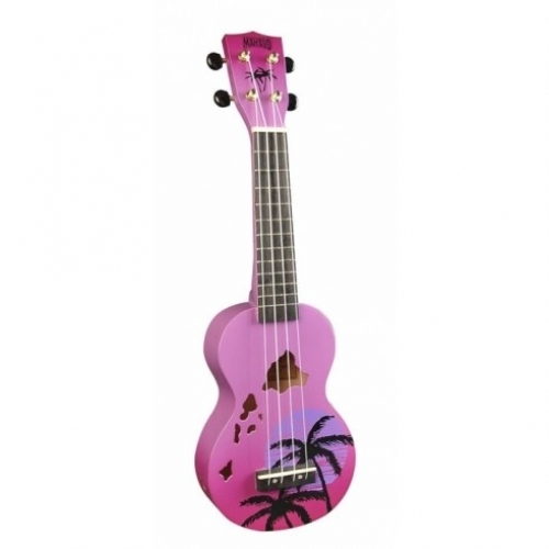 MAHALO MD1HAPPB HAWAII purple burst - ukulele
