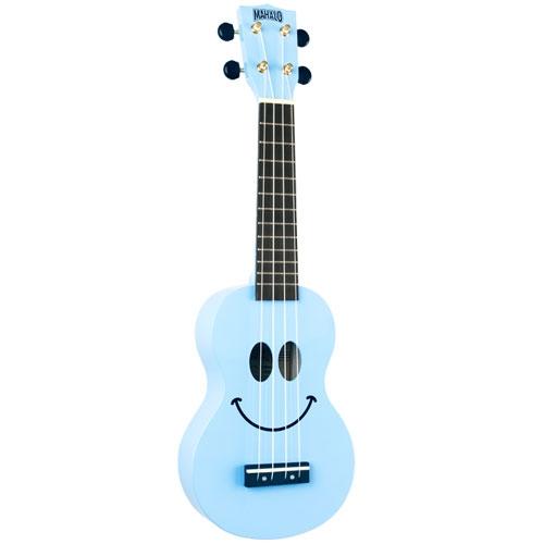 MAHALO U-SMILE-LBU light blue ukulele/hawaii gitara set