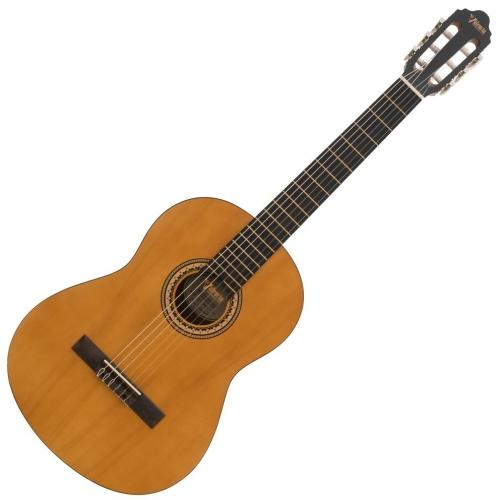 Valencia Klasična gitara set VC203K 3/4 vintage natural satin