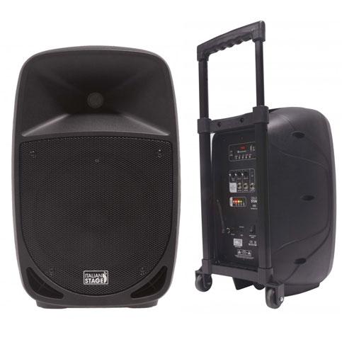ITALIAN STAGE FR10AW 10 portabilni MP3 SD-USB-BT aktivni zvučnik sa bežičnim mikrofonom