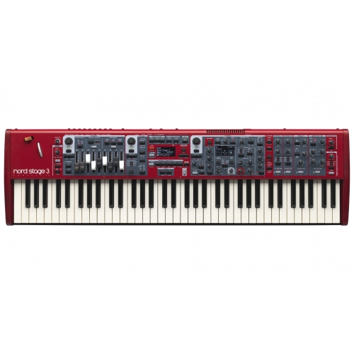 NORD Stage 3 Compact 73-note Semi-Weighted Waterfall -  klavijatura