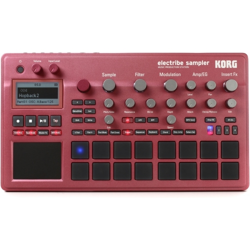 KORG ELECTRIBE-2S RD SAMPLER RED music production station
