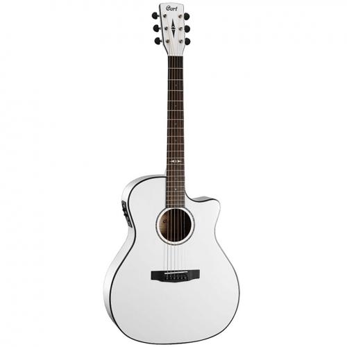 CORT Ak gitara GA5F-WH ozvučena
