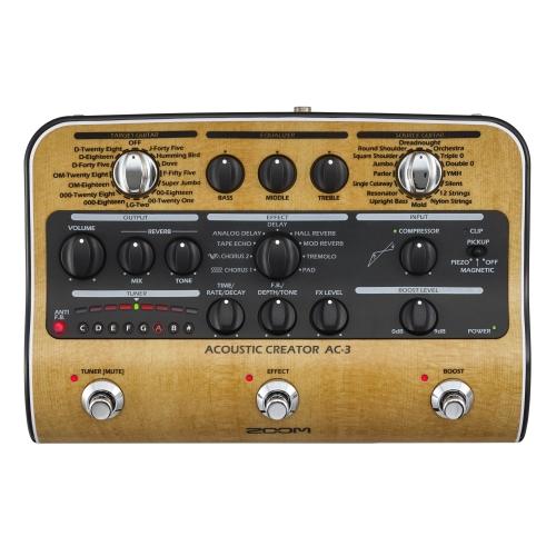 ZOOM AC3 predpojačalo i efekat za akust.gitaru