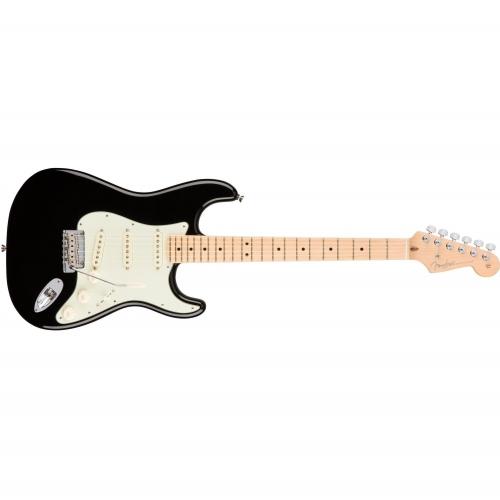Fender El gitara 011-3012-706 American Pro Stratocaster®, Maple Fingerboard, Black