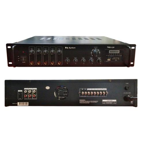 SAR PA-Systems TAD-12P 100V 120W pojačalo sa FM Tunerom Bluetooth i USB playerom