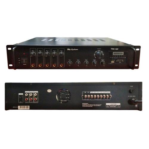 SAR PA-Systems TAD-18P 100V 180W pojačalo sa FM Tunerom Bluetooth i USB playerom