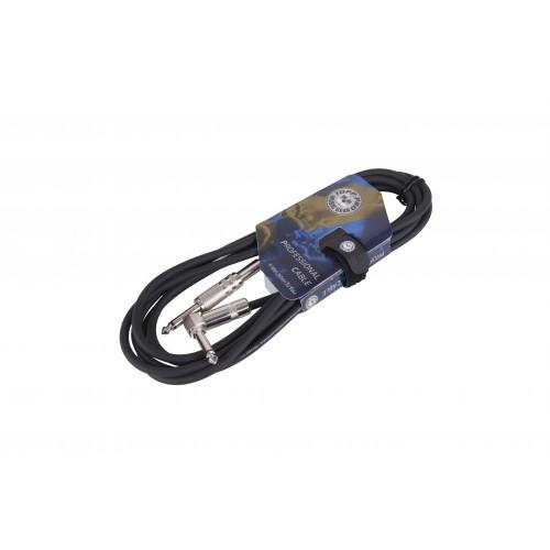 TOPP PRO GC02LU03 - 6.3 mn - 6.3 kutni mn 3m  instrument kabel