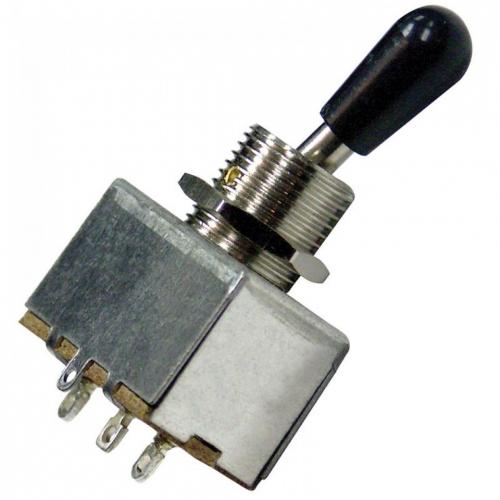JHS Guitar TECH GT541 - 3-way prekidač LP tip sa crnom kapicom