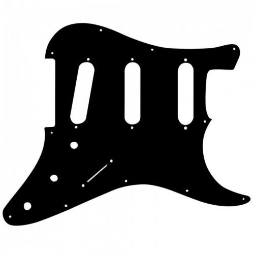 JHS Guitar TECH GT576 SSS pickguard SP1STB 11 hole black