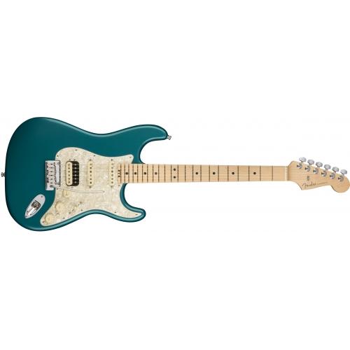 Fender El gitara 011-4112-708 American ELITE Stratocaster®, HSS Shawbucker MN - Ocean Turquoise