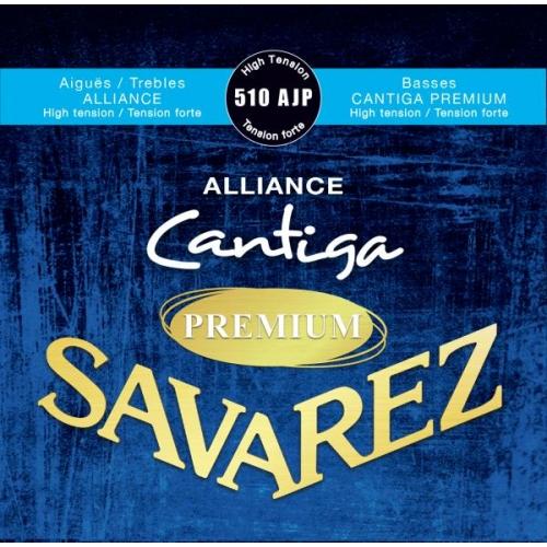 SAVAREZ 510AJP BLUE HIGH TENSION Alliance-Cantiga Premium - žice za klasičnu gitaru