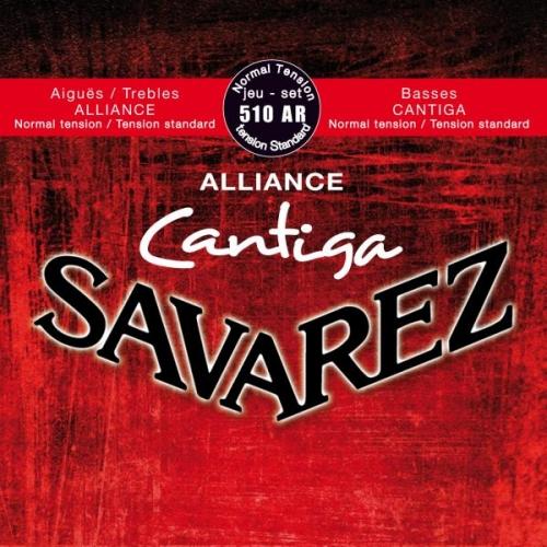 SAVAREZ 510AR RED STANDARD TENSION Alliance-Cantiga žice za klasičnu gitaru