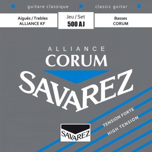 SAVAREZ 500AJ BLUE HIGH TENSION Alliance-Corum žice za klasičnu gitaru