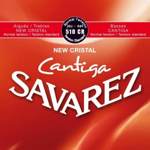 SAVAREZ 510CR RED STANDARD TENSION New Cristal-Cantiga žice za klasičnu gitaru