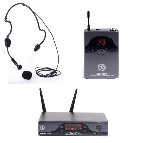 dB Technologies - ANT UNO G8 BHS belt set UHF bežični PILOT mikrofon ( frekvencija 823-832 MHZ )