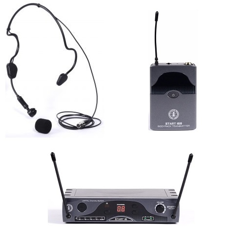 dB Technologies - ANT START 16 BHS  UHF bežični PILOT mikrofon (frekv. 863-865 MHZ ili 823-832 MHZ)