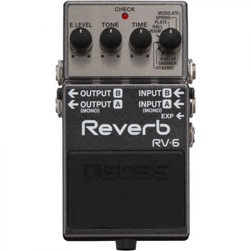 BOSS RV6 reverb pedala