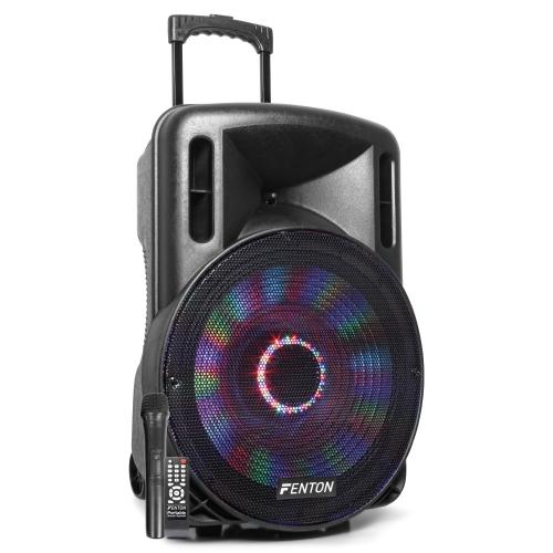 Fenton FT15LED 15″ 800W, sa UHF bežičnim mikrofonom