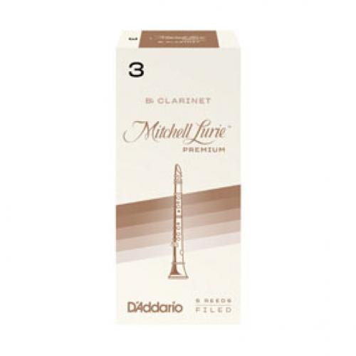 RICO RMLP5BCL300 Mitchell Lurie Premium Bb trska za klarinet 3
